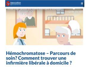 hemochromatose infirmiere liberale