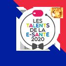 logo talents de la e-sante 2020