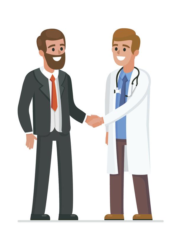 docteurs médecins patients soins infirmiers
