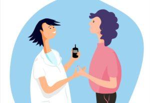 soins infirmiers diabete insuline domicile ald injections