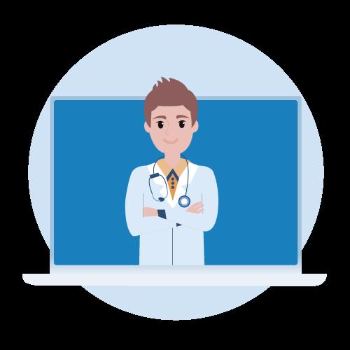 illustration professionnel de santé