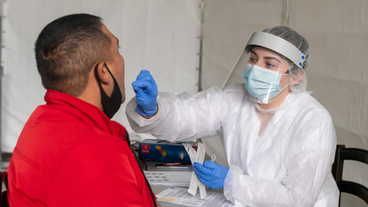 test depistage covid idel infirmiere a domicile